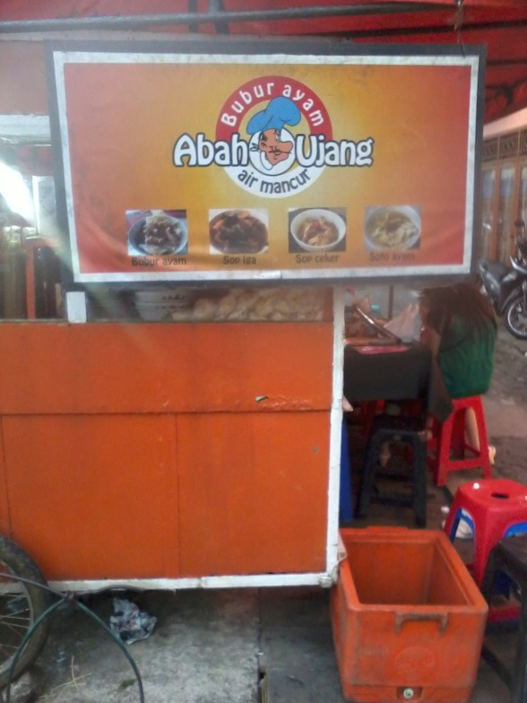 Wisata Kulineer Bubur Ayam Abah Ujang Air Mancur Bogor