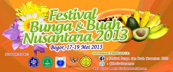 FESTIVAL BUNGA DAN BUAH NUSANTARA 2013