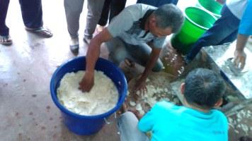 perendaman dengan fermentor